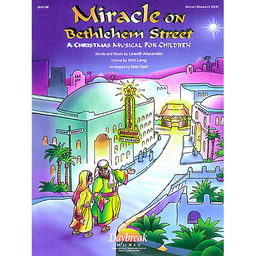 Daybreak Music Miracle on Bethlehem Street (A Christmas Musical for Children) Preview Pak Arranged by Don Hart-thumbnail