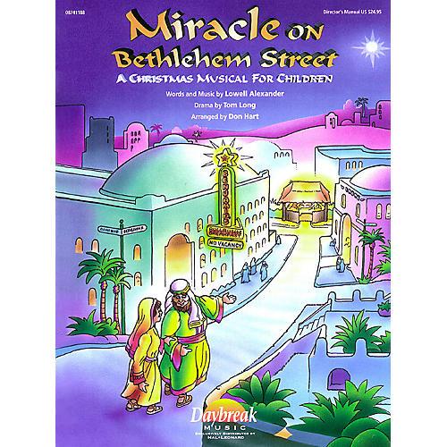 Daybreak Music Miracle on Bethlehem Street CHOIRTRAX CD Arranged by Don Hart-thumbnail