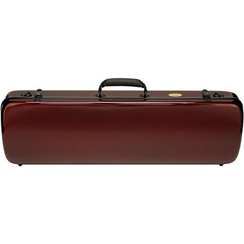 Otto Musica Mirage Series Carbon Hybrid Violin Case 4/4 Burgundy