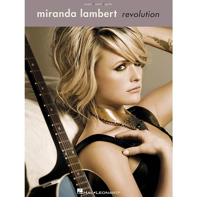 Hal LeonardMiranda Lambert - Revolution Piano/Vocal/Gutar Songbook