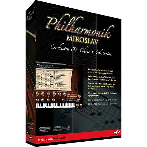 IK Multimedia Miroslav Philharmonik Orchestra Virtual Instrument Workstation