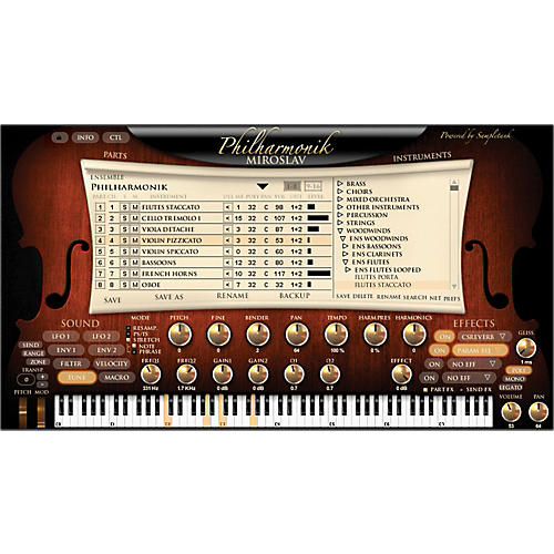 IK Multimedia Miroslav Philharmonik Software