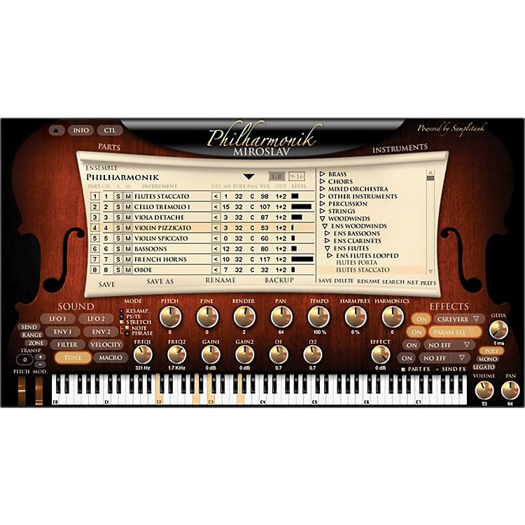 IK MultimediaMiroslav Philharmonik Software