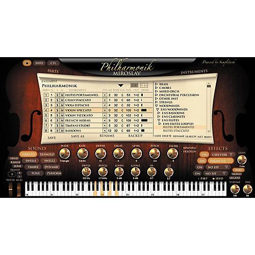 IK Multimedia Miroslav Philharmonik Virtual Instrument Crossgrade for Sample Tank 2 L/XL Users