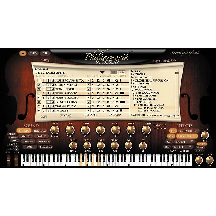 IK MultimediaMiroslav Philharmonik Virtual Instrument Crossgrade for Sample Tank 2 L/XL Users