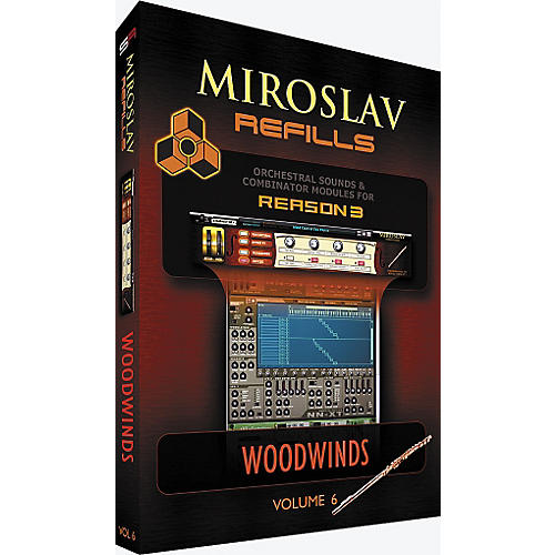 IK Multimedia Miroslav Refills for REASON Volume 6 - Woodwinds