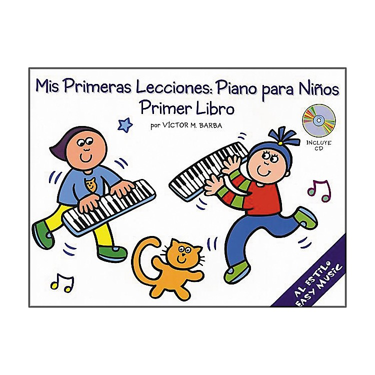 Music SalesMis Primeras Lecciones Primer Libro (Book/CD)