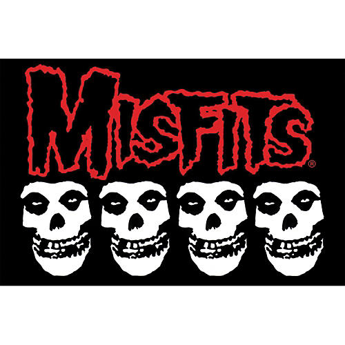 C&D Visionary Misfits Skull Pillow Cases