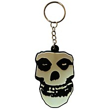 C&D Visionary Misfits Skull Rubber Key Chain