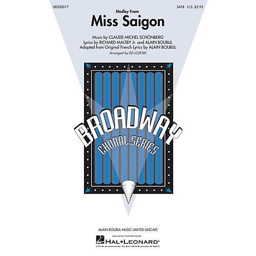 Hal Leonard Miss Saigon (Medley) SAB Arranged by Ed Lojeski-thumbnail