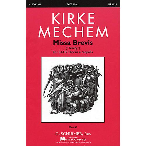 G. Schirmer Missa Brevis SATB composed by Kirke Mechem-thumbnail