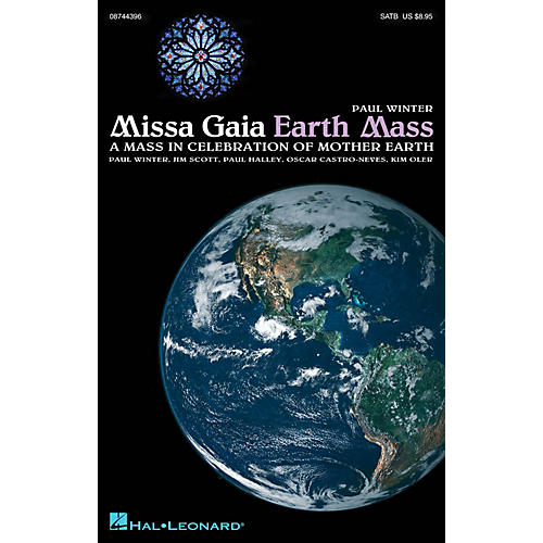 Hal Leonard Missa Gaia (Earth Mass) IPAKS by Paul Winter Composed by Jim Scott-thumbnail