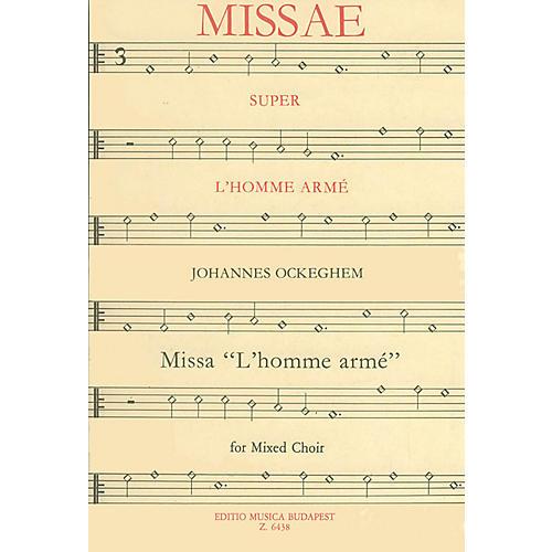 Editio Musica Budapest Missa L'homme Armé Composed by Johannes Ockeghem-thumbnail