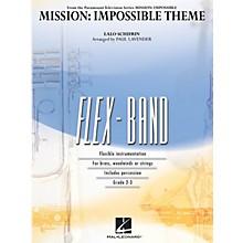 Hal Leonard Mission: Impossible Theme Concert Band Level 2-3 Arranged by Paul Lavender