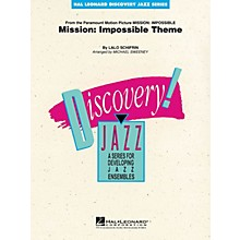 Hal Leonard Mission: Impossible Theme Jazz Band Level 1-2 Arranged by Michael Sweeney