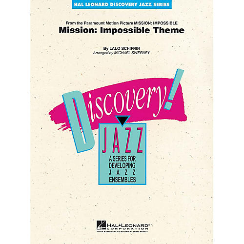 Hal Leonard Mission: Impossible Theme Jazz Band Level 1-2 Arranged by Michael Sweeney-thumbnail
