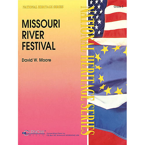 Curnow Music Missouri River Festival (Grade 3 - Score and Parts) Concert Band Level 3 Composed by David Moore-thumbnail