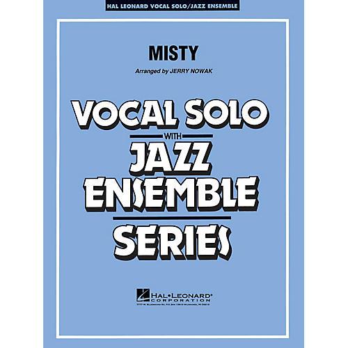 Hal Leonard Misty (Key: C) Jazz Band Level 3-4-thumbnail