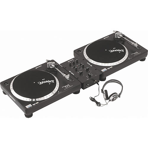 Gemini Mix Master 5.0 Belt-Drive Turntable Package