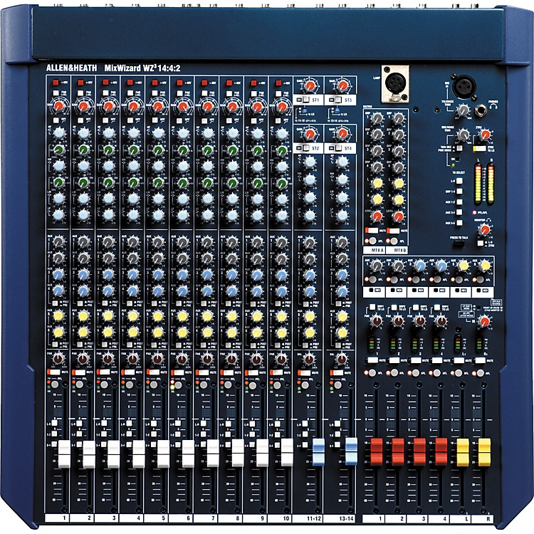 Allen & Heath MixWizard WZ3 14:4:2+ Mixer