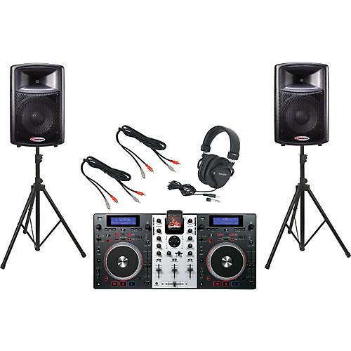 Numark Mixdeck / Harbinger APS12 DJ Package
