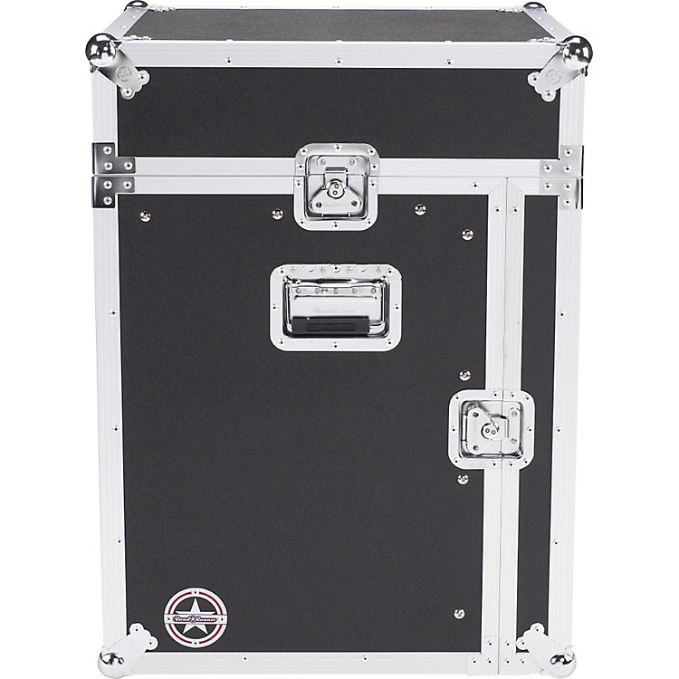 Road Runner Mixer Rack Case Black 12 Sp