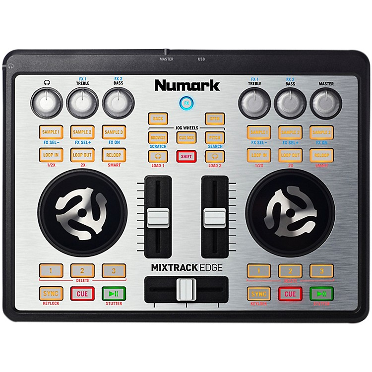NumarkMixtrack Edge Slimline USB-powered DJ Controller