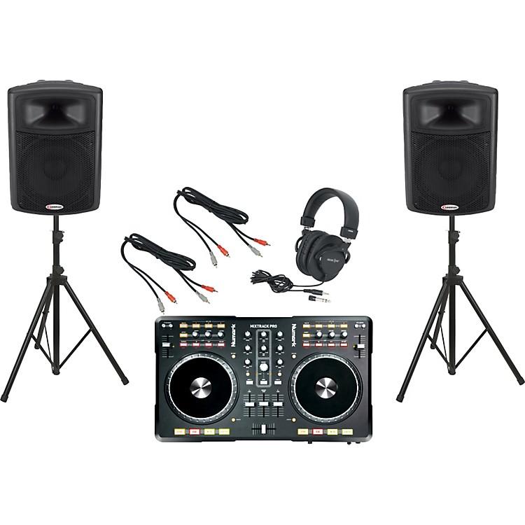 NumarkMixtrack Pro / Harbinger APS15 DJ Package