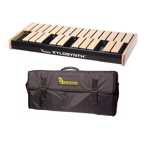 Wernick MkVI Blonde Birch Xylosynth w/Button Control, Internal Sounds and Soft Bag