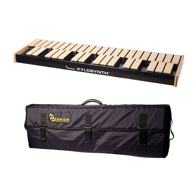 WernickMkVI Blonde Birch Xylosynth w/Button Control, Internal Sounds and Soft Bag