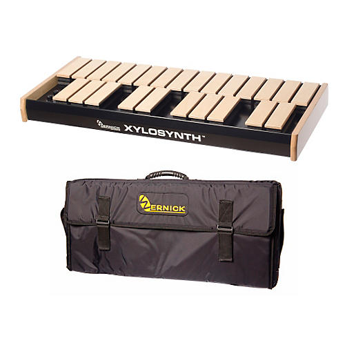 Wernick MkVI Blonde Birch Xylosynth w/Button Control, LED Display and Soft Bag-thumbnail