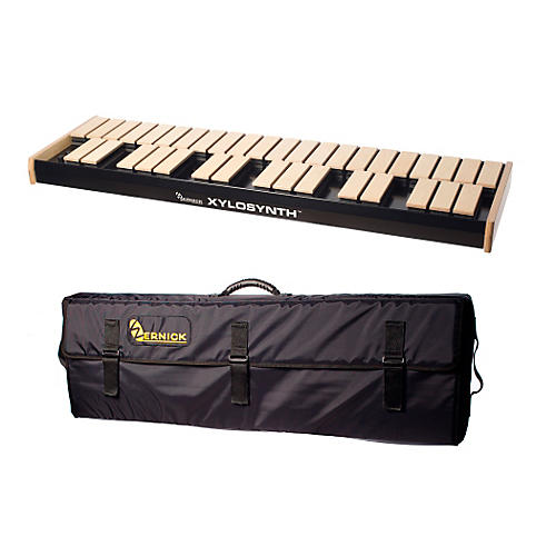 Wernick MkVI Blonde Birch Xylosynth w/Button Control and Soft Bag