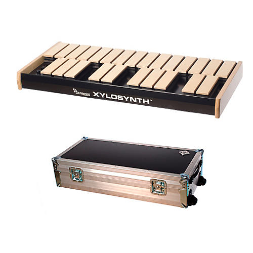 Wernick MkVI Blonde Birch Xylosynth w/Flight Case and Accessories-thumbnail