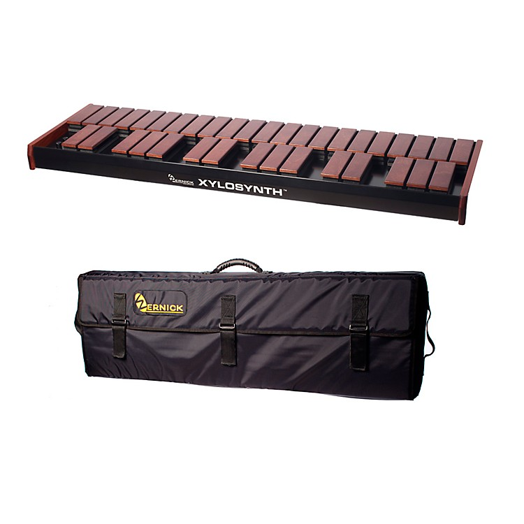 WernickMkVI Stained Birch Xylosynth w/Internal Sounds and Soft Bag