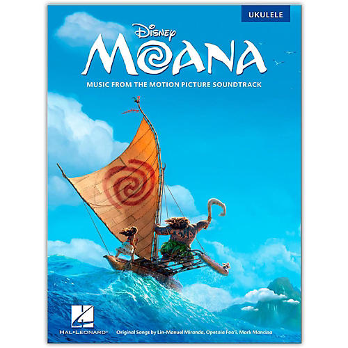 Hal Leonard Moana - Music from the Motion Picture Soundtrack for Ukulele-thumbnail