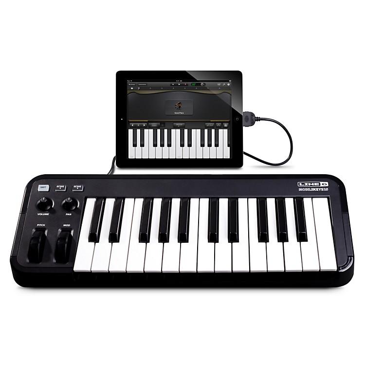 Line 6Mobile Keys 25 Premium Keyboard Controller for Mobile DevicesBlack