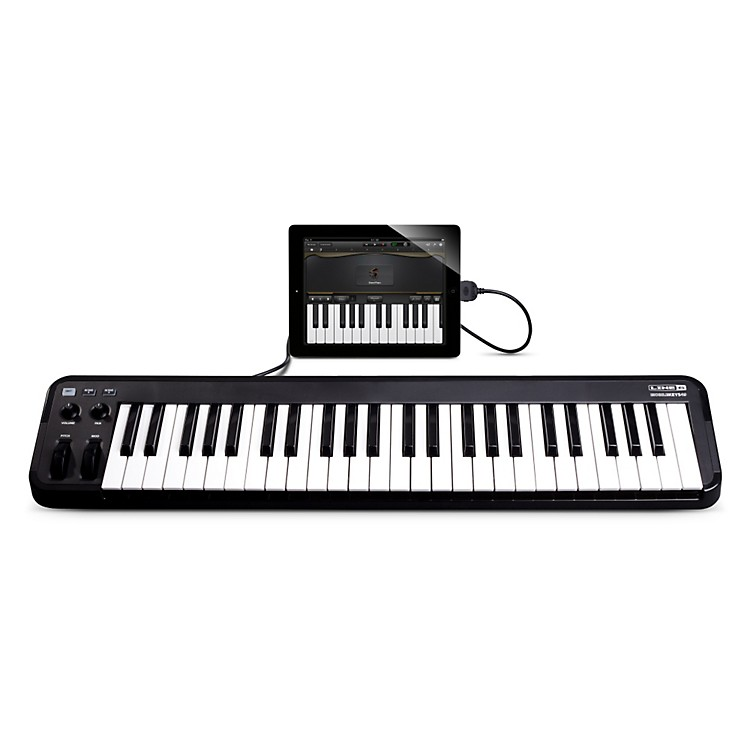 Line 6 Mobile Keys 49 Premium Keyboard Controller for Mobile Devices Black