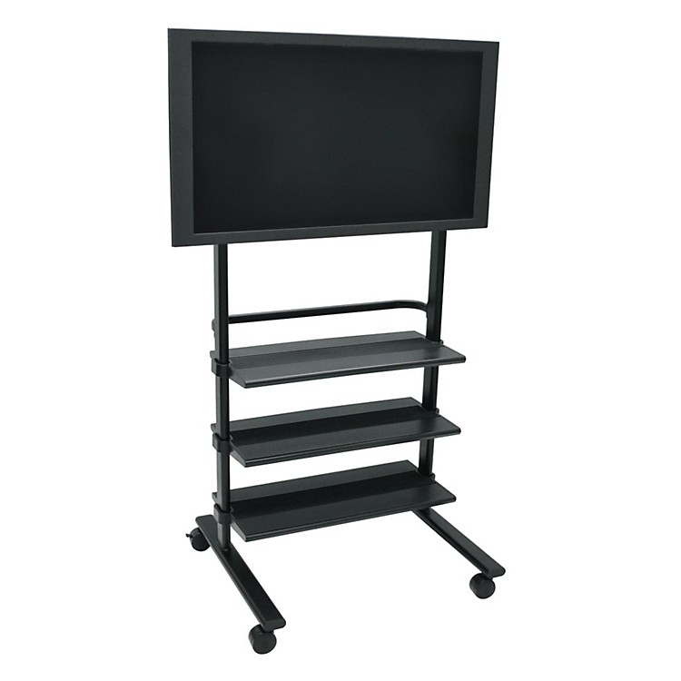 H. Wilson Mobile LCD/ Flat Panel Stand Black Large