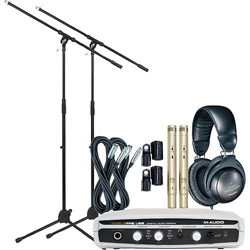 M-Audio Mobile Pre Recording Bundle