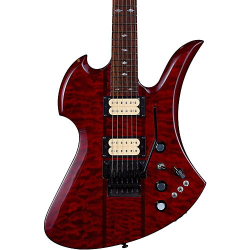 B.C. Rich Mockingbird Neck Through with Floyd Rose and DiMarzios Electric Guitar-thumbnail