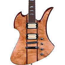 B.C. Rich Mockingbird Neck Through with Walnut Burl Top and Dimarzios Electric Guitar