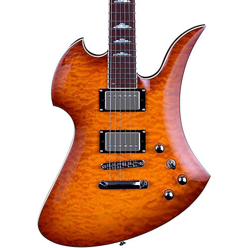B.C. Rich Mockingbird Set Neck Electric Guitar Amber Burst