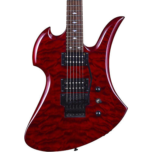 B.C. Rich Mockingbird with Double Locking Tremolo Electric Guitar-thumbnail