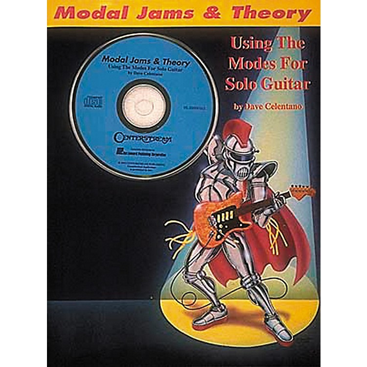 Hal Leonard Modal Jams And Theory Book/CD