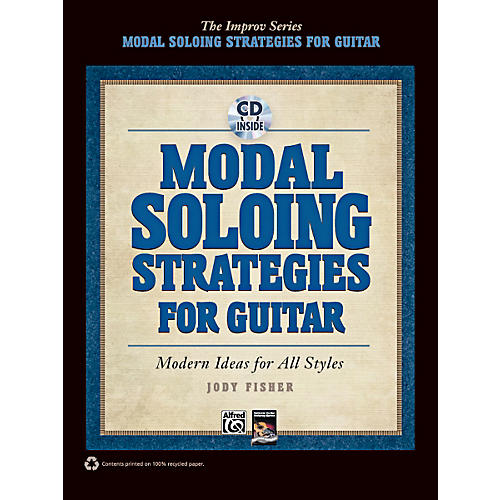 Alfred Modal Soloing Strategies for Guitar Book & CD
