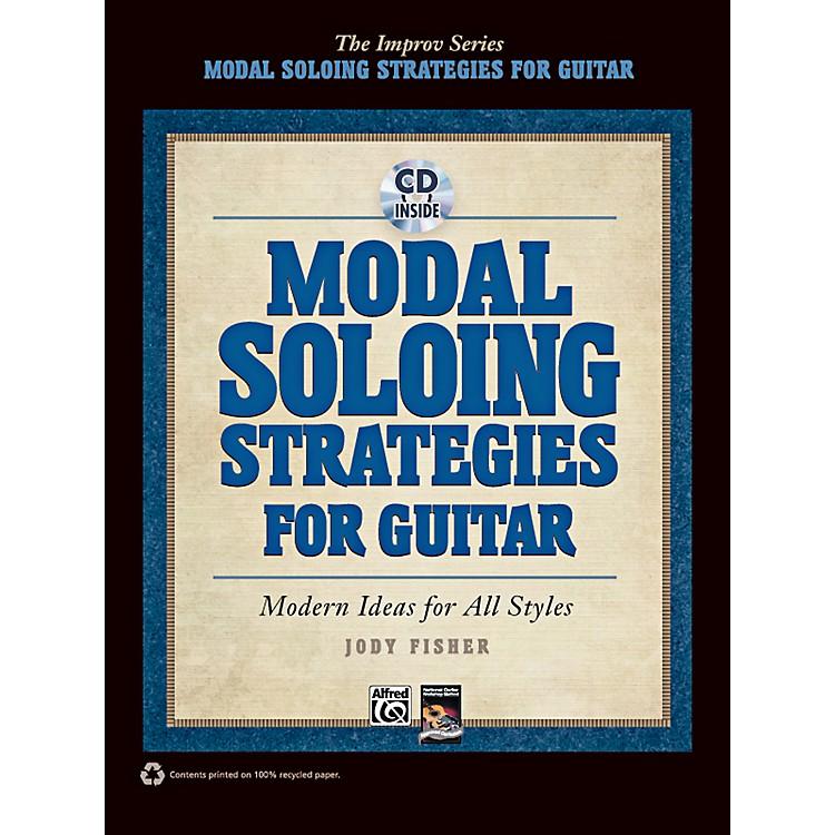 AlfredModal Soloing Strategies for Guitar Book & CD