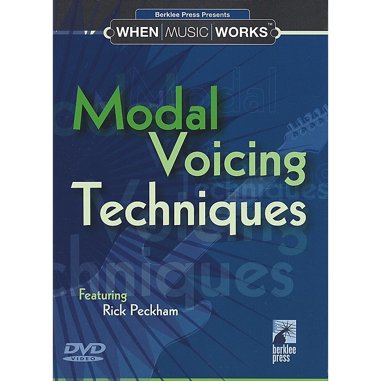 Berklee Press Modal Voicing Techniques Guitar (DVD)