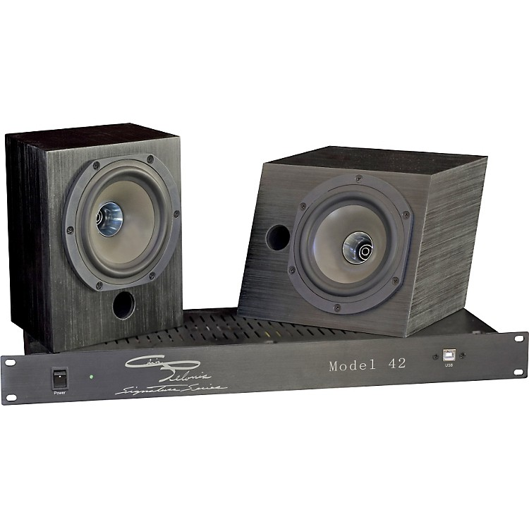Pelonis Sound and AcousticsModel 42 Two-Way Compact Active Studio Monitoring System