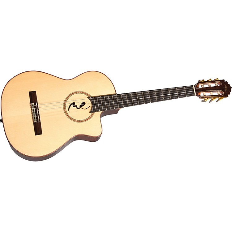 Manuel Rodriguez Model B Cutaway Boca M.R. Nylon-String Acoustic-Electric Guitar