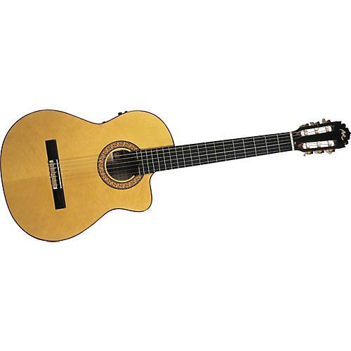 Manuel Rodriguez Model B Cutaway Classical Narrow Acoustic-Electric Guitar-thumbnail